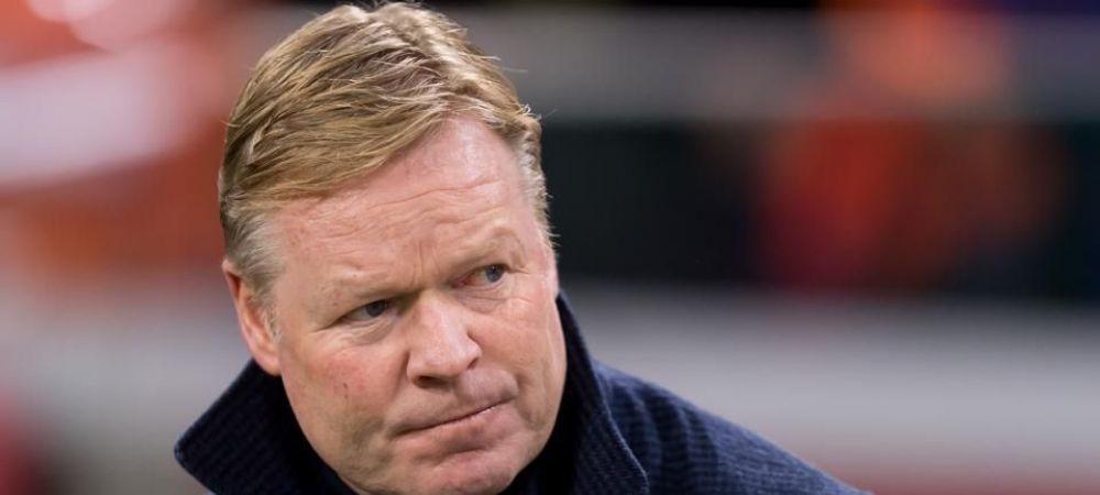 """Prima reactie a lui Ronald Koeman: """"Este momentul sa devin antrenorul Barcelonei!"""" Tehnicianul olandez confirma mutarea"""