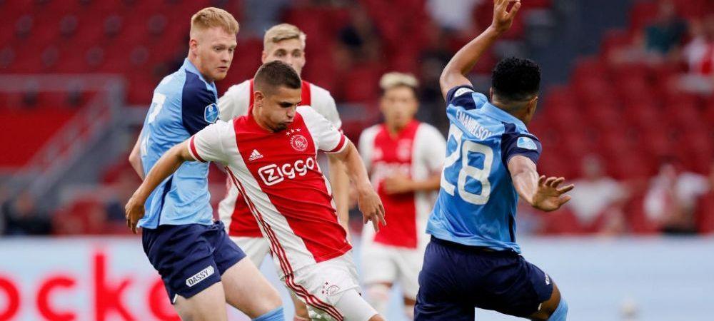 Razvan Marin s-a SATURAT sa fie rezerva la Ajax! Unde este dorit mijlocasul si cat cer olandezii pentru a-i da drumul!