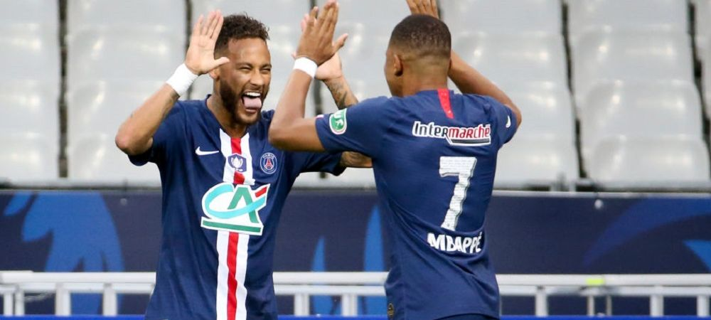 Bucurie dezlantuita! Neymar si Mbappe s-au filmat in vestiar IMEDIAT dupa meciul cu Leipzig! Cum au aparut starurile de 400 de milioane de euro in fata camerei