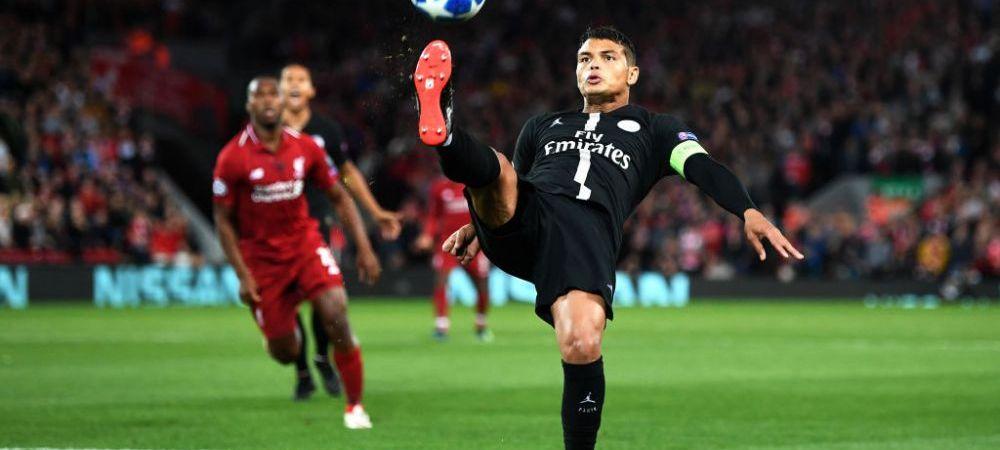 """Thiago Silva, OUT de la PSG! Capitanul francezilor viseaza sa joace in Serie A, alaturi de un fost coechipier:""""Vrea sa joace din nou cu el"""""""