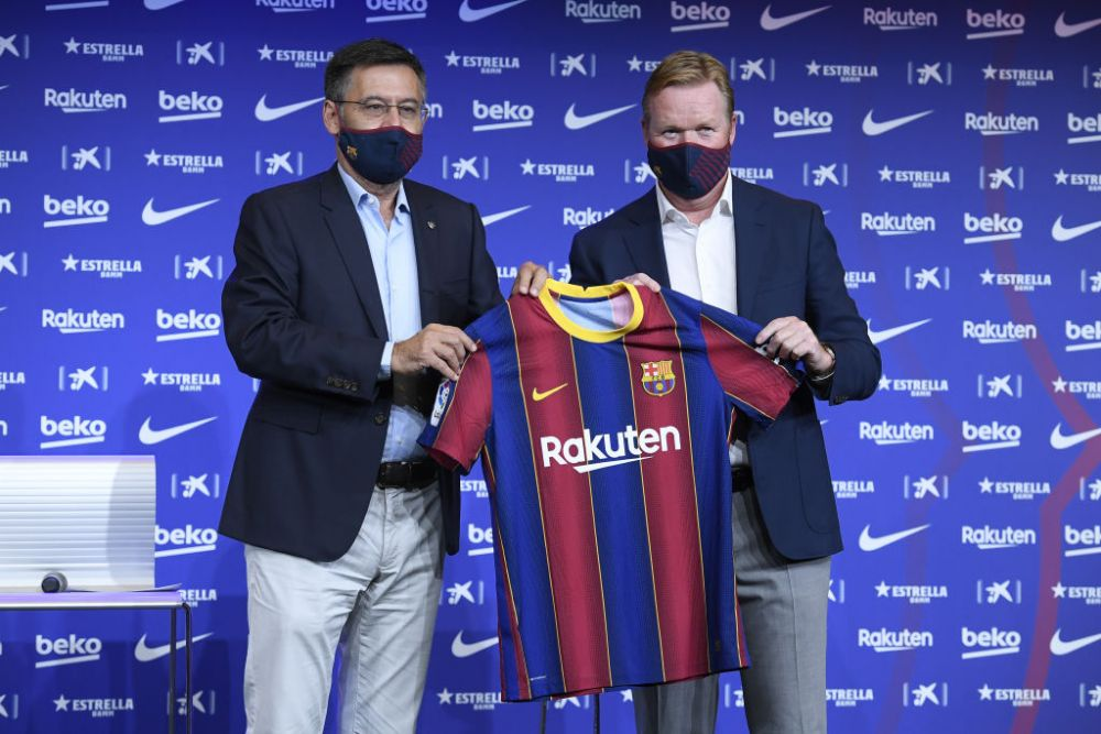 Koeman, prezentat oficial la Barcelona! Primele declaratii ale olandezului pe Camp Nou! Ce spune despre transferul lui Messi: