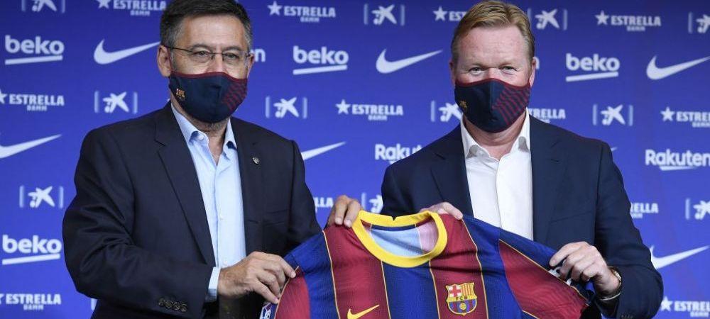 """Koeman, prezentat oficial la Barcelona! Primele declaratii ale olandezului pe Camp Nou! Ce spune despre transferul lui Messi: """"El este diferit!"""""""