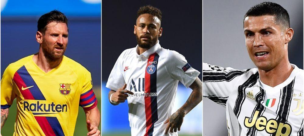 Messi, Ronaldo si Neymar in aceeasi echipa?! Scenariul FABULOS prin care cei trei COLOSI ai fotbalului ajung sa joace impreuna