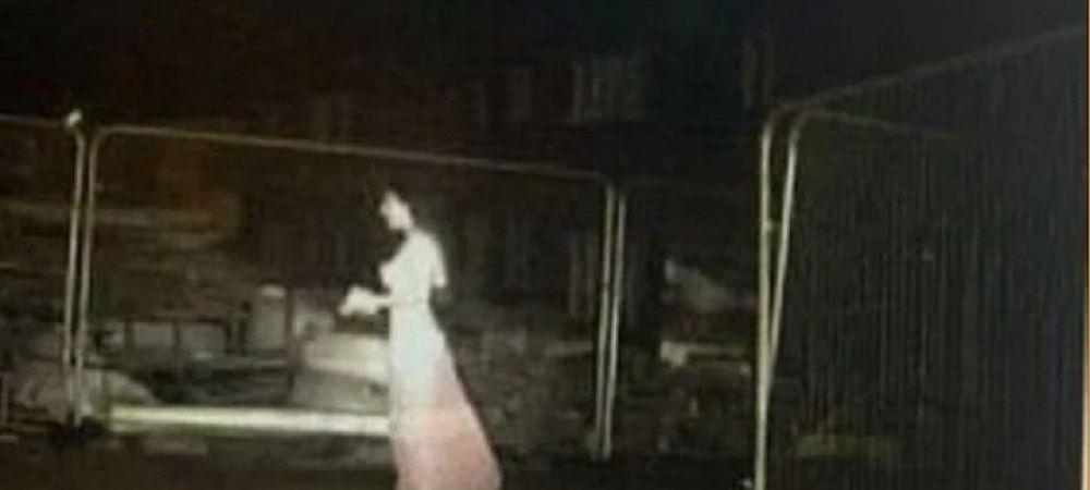 FANTOMA unei mirese le-a dat FIORI muncitorilor de pe un santier! Imaginile de pe camerele de supraveghere au devenit virale!