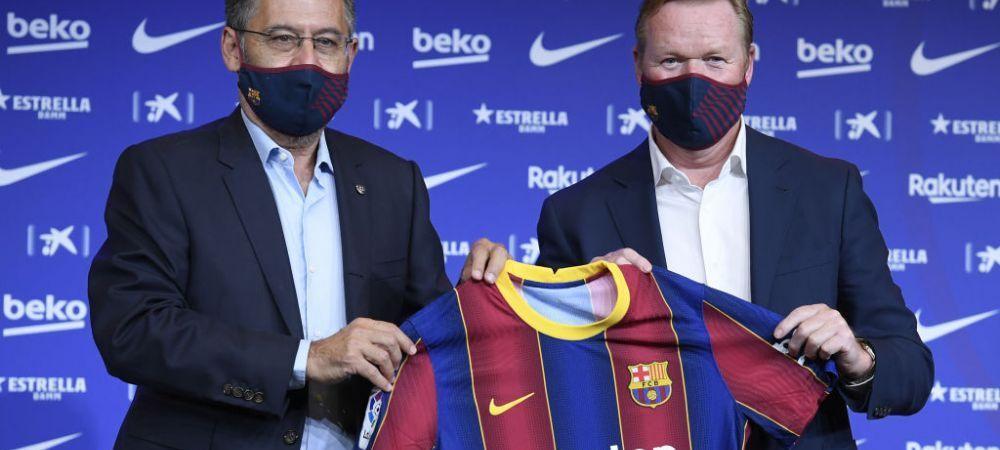 """Bartomeu, facut PRAF de fostul vicepresedinte al Barcelonei: """"Este un presedinte opac cu credibilitate nula!"""" Cum e vazuta numirea lui Koeman"""