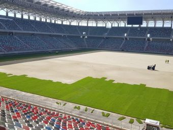 S-a facut LUMINA in Ghencea! Nocturna de pe stadionul Steaua a fost aprinsa! Imagini senzationale cu arena