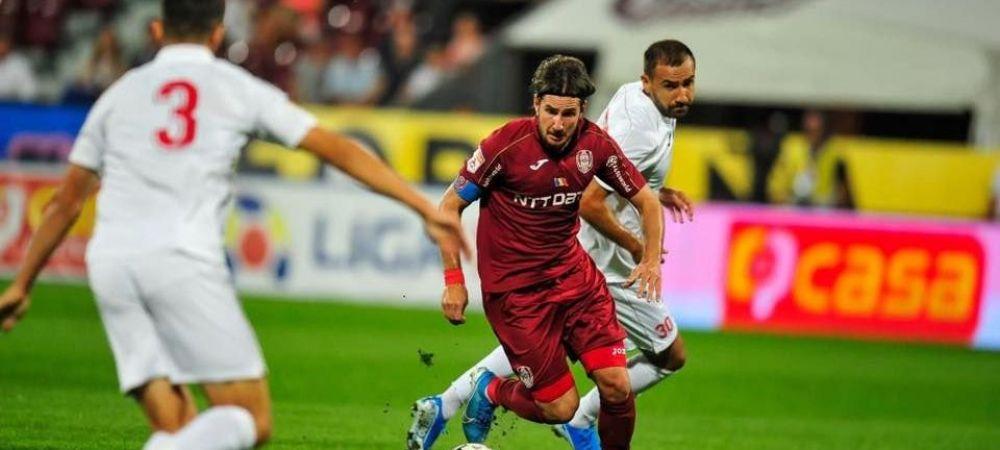 Apti pentru duelul cu Dinamo Zagreb din Champions League! Mijlocasii CFR-ului care s-au luptat cu Covid au revenit la antrenamente!