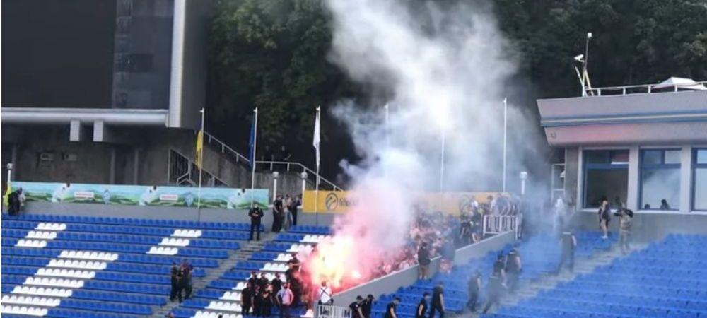 Ultrasii au intrat la meciul CU PORTILE inchise jucat de Dinamo Kiev ca sa-l injure pe Lucescu! Imagini INCREDIBILE surprinse acum cateva minute