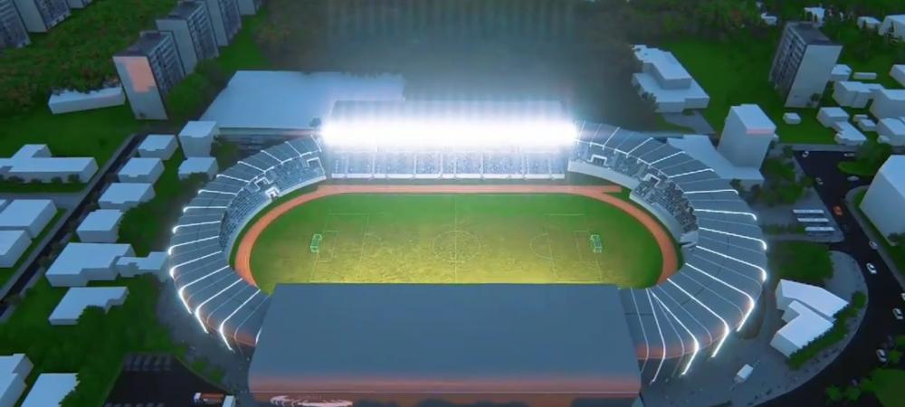 Inca o BIJUTERIE de stadion in Romania! Incep lucrarile de reconstructie pe stadionul unui club din Liga 1! Echipa se muta pe terenul rivalei pana la finalul sezonului
