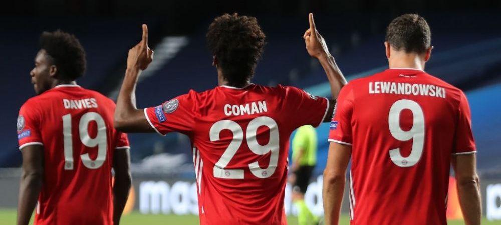 GIGANTI, CA TURNUL EIFFEL! Bayern a inghitit SACUL CU SUPERSTELELE Parisului si a CASTIGAT Champions League pentru a 6-a oara in istorie! Neymar si Mbappe, LOVITI de zidul NEUER! AICI FAZELE din PSG 1-0 Bayern