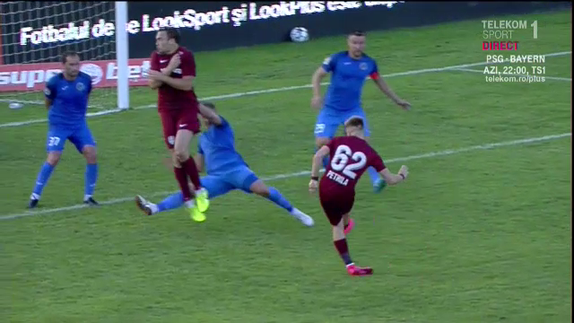 Scoala UMILINTEI pentru Petrescu! Pustiul Petrila l-a salvat la Clinceni! A marcat un gol superb pentru CFR