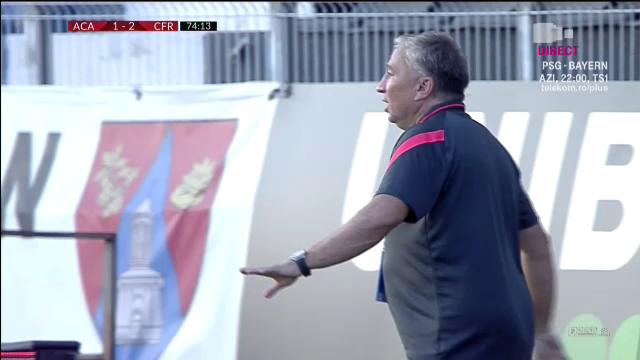 'BIZONUL' s-a mutat la CFR! :) Gnohere nu mai e grasutul Ligii 1! Cum ce look pufos a aparut Petrescu pe banca in meciul cu Clinceni