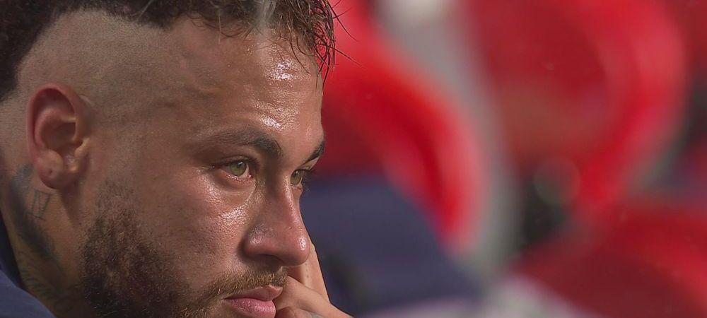Neymar, DISTRUS de durere dupa finala pierduta cu Bayern! Cum a fost surprins de camere
