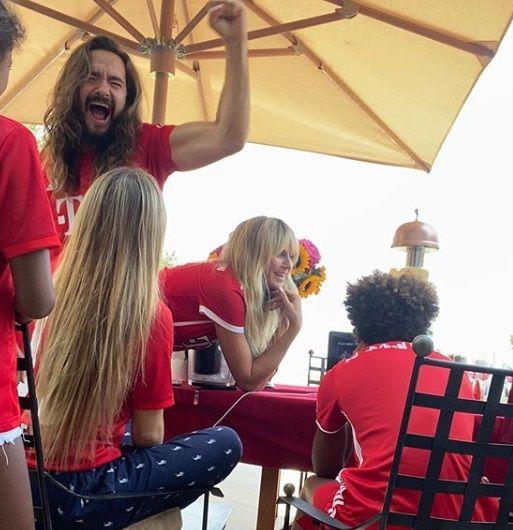 Sprijin de LUX pentru Bayern in finala cu PSG. Cine e actrita SEXY care s-a bucurat in LENJERIE INTIMA de victoria nemtilor