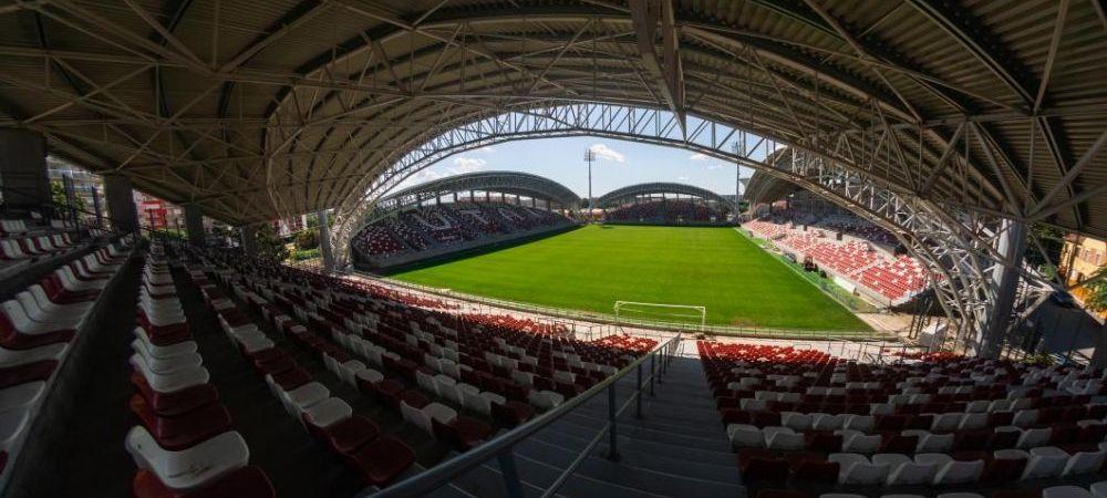 Primul stadion din Romania unde pot veni suporterii la meciuri! Noua arena din Arad a primit avizul DSP! Cati fani ar putea intra in tribune