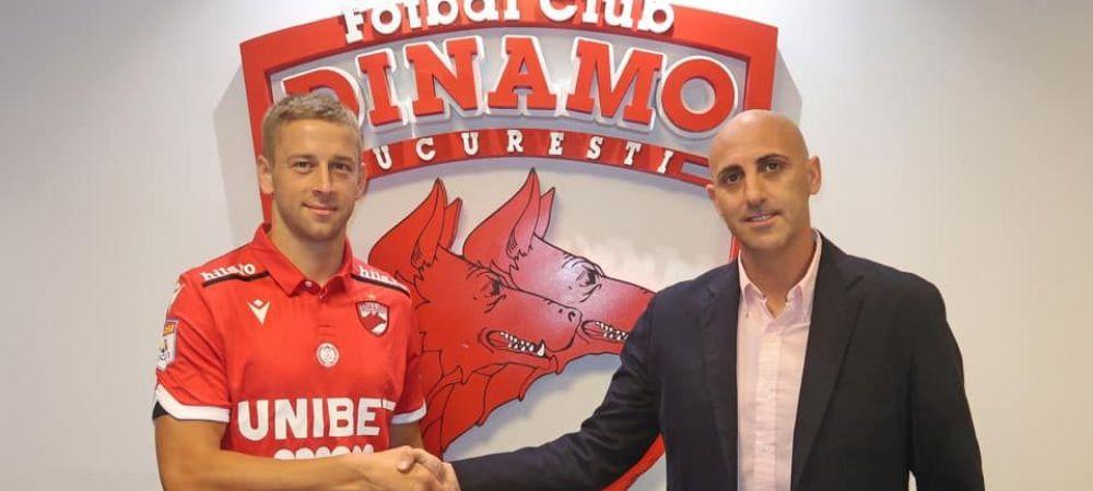 Primul transfer extern pentru Dinamo dupa venirea spaniolilor! Jucatorul a fost prezentat oficial. Janusz Gol e anuntat ca o mare lovitura: ce salariu urias pentru Liga 1 are