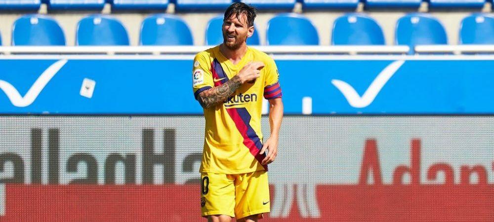 EXPLOZIE in vestiarul Barcelonei! Destinatie surpriza pentru Messi? Ce echipa cu buget infinit a inceput negocierile pentru transferul sau