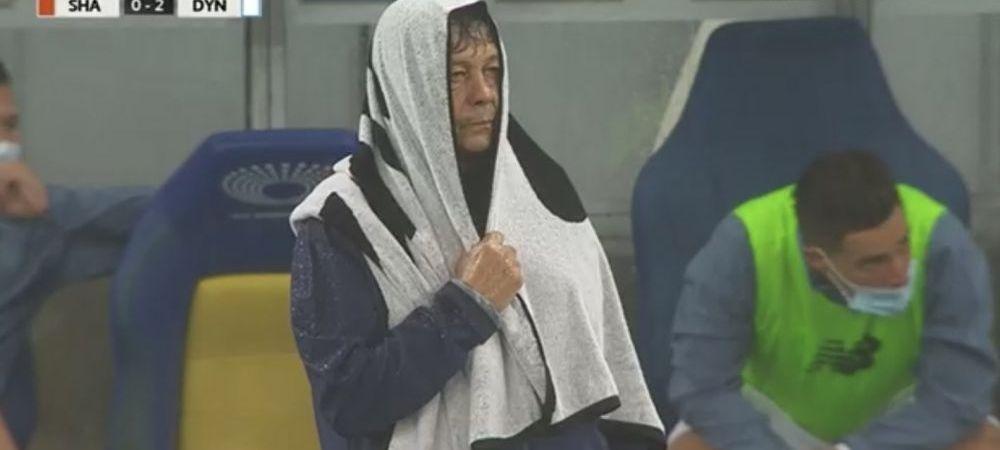 Lucescu, start EXPLOZIV pe banca lui Dinamo Kiev! A rupt-o pe Sahtior in Supercupa Ucrainei! Imaginea care face inconjurul lumii! Cum a aparut Lucescu pe marginea terenului