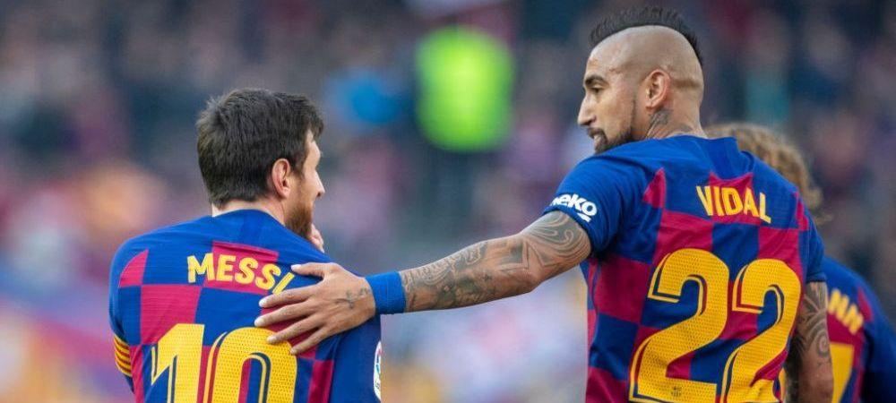 "Reactia GENIALA a lui Vidal dupa ce Messi a cerut sa fie lasat sa plece! ""Asta se intampla cand incoltiti un tigru, el nu renunta!"""