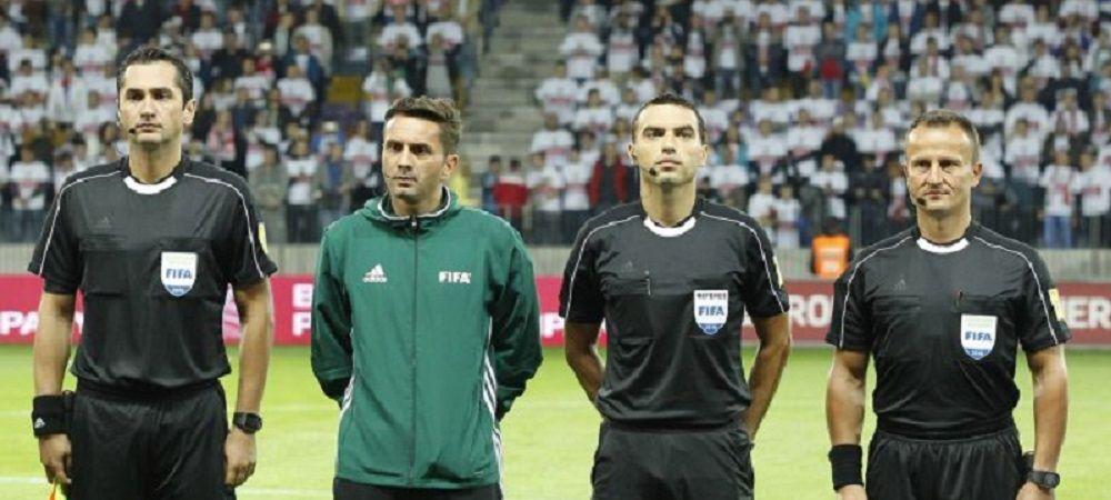 Delegare DE TOP pentru arbitrii romani! Kovacs si Hategan, la centru in meciurile campioanei mondiale!