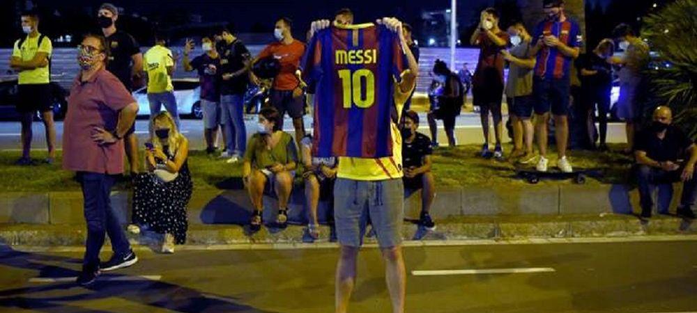 Fanii catalani au iesit CU MIILE din case pentru Messi! Strazi BLOCATE in oras! Detalii de ultima ora de la Barcelona