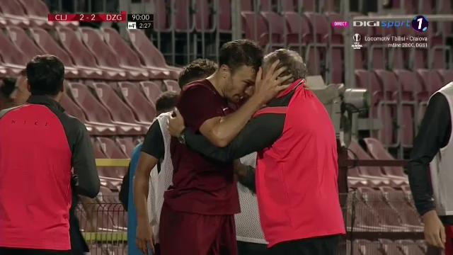 """""""Nu am cuvinte pentru meciul asta! Nu avem nicio scuza!"""" Camora, DISTRUS dupa eliminarea CFR-ului din Champions League"""