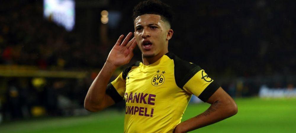 VIDEO   Jadon Sancho a reusit mai frumos dribling al saptamanii! Cum si-a INNEBUNIT adversarii intr-un meci de pregatire al Borussiei Dortmund