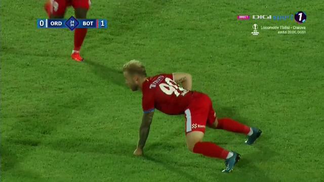 Cea mai bizara bucurie de gol pe care ai vazut-o! Ce a vrut sa faca Holzmann dupa ce a marcat pentru Botosani?! Nimeni n-a inteles gestul