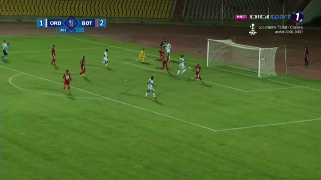 Ratarea care va face inconjurul lumii! NU SE POATE sa nu dai gol de acolo! Ce s-a intamplat in minutul 90+4 la Ordabasy-FC Botosani