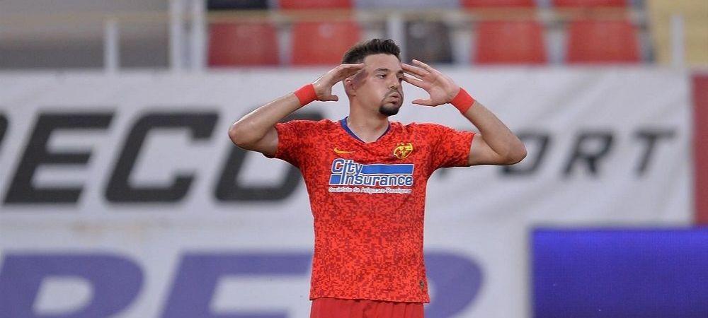 Scapa FCSB de Adi Petre?! Atacantul NU mai are nicio sansa sa prinda echipa dupa golul lui Buziuc din Europa League! Ce i-ar fi spus Gigi Becali
