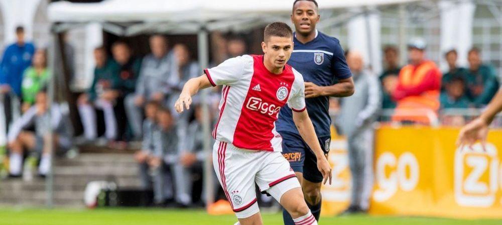 Razvan Marin a PLECAT de la Ajax! Semneaza cu Cagliari si va fi prezentat in urmatoarele zile