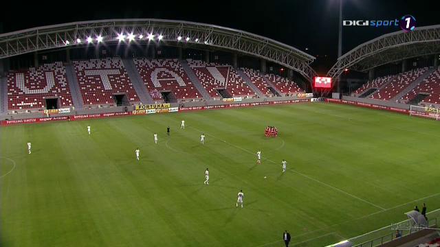 Cea mai TRISTA deschidere de stadion! S-au jucat primele minute pe SUPER ARENA de 15 milioane de euro a Aradului! Fanii s-au chinuit sa isi incurajeze echipa