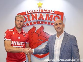 Adam Nemec, prezentat oficial la Dinamo!Anuntul clubului din Stefan cel Mare