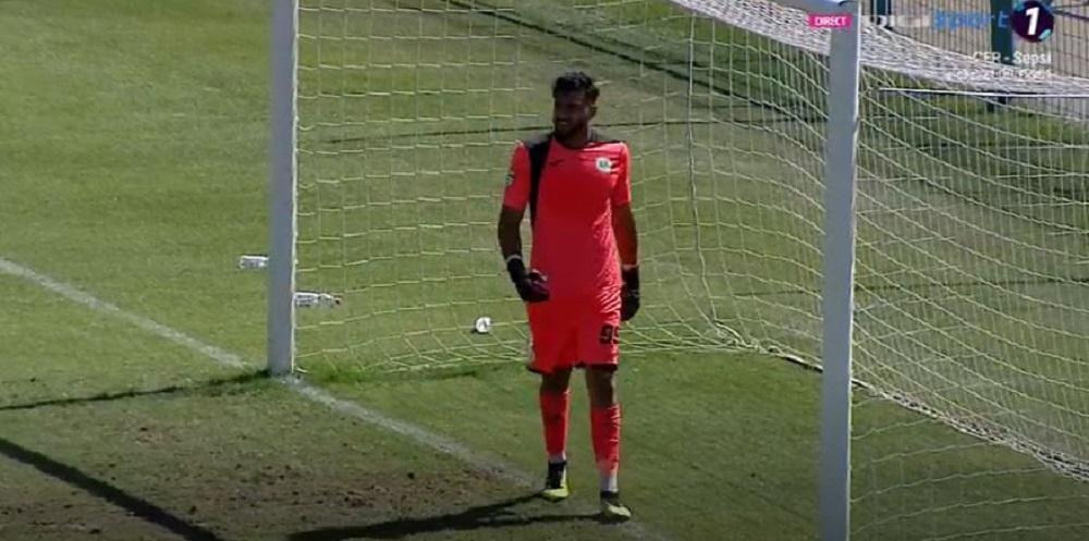 GAFA DE CURTEA SCOLII pentru portarul Concordiei Chiajna! Cum le-a permis buzoienilor sa deschida scorul in minutul 4!