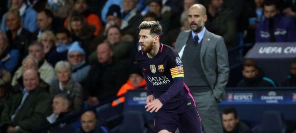 A venit Guardiola dupa Messi?!Cum a fost surprins managerul lui Manchester City in Barcelona!