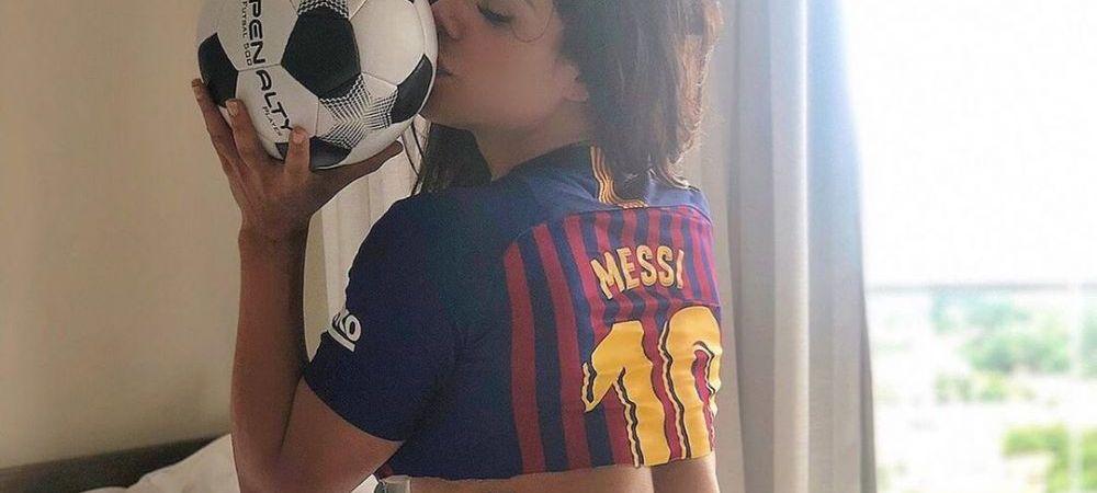 DISTRUSA de durere dupa decizia lui Messi! Miss Bum Bum, primele declaratii dupa socul declansat de starul Barcelonei