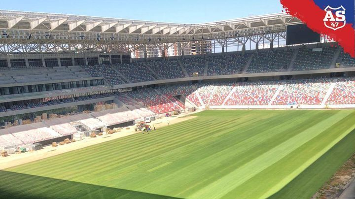 E GATA! Noul Steaua arata FANTASTIC: s-au pus gazonul si bancile de rezerve! Cum arata stadionul de 100 de milioane de euro al Stelei