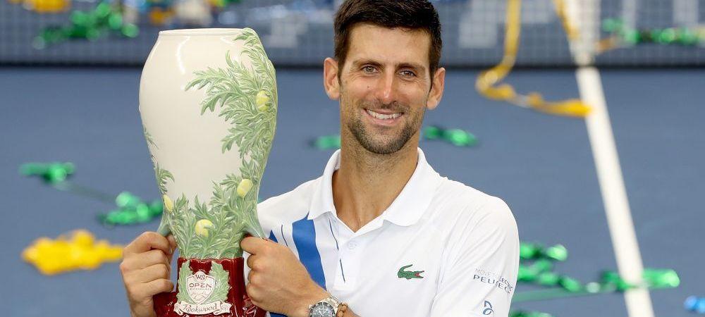 WOW   Neinvins dupa 23 de meciuri in 2020, Novak Djokovic a castigat al 80-lea turneu al carierei!