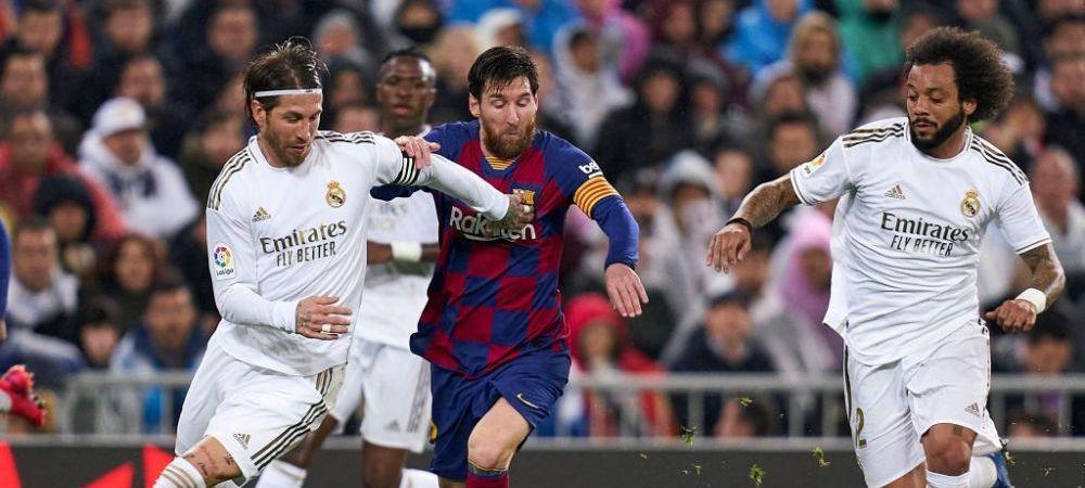 S-a tras la sorti calendarul La Liga! Cand se joaca PRIMUL EL CLASICO din era 'POST-MESSI' daca Leo nu se razgandeste si PLEACA de pe Camp Nou