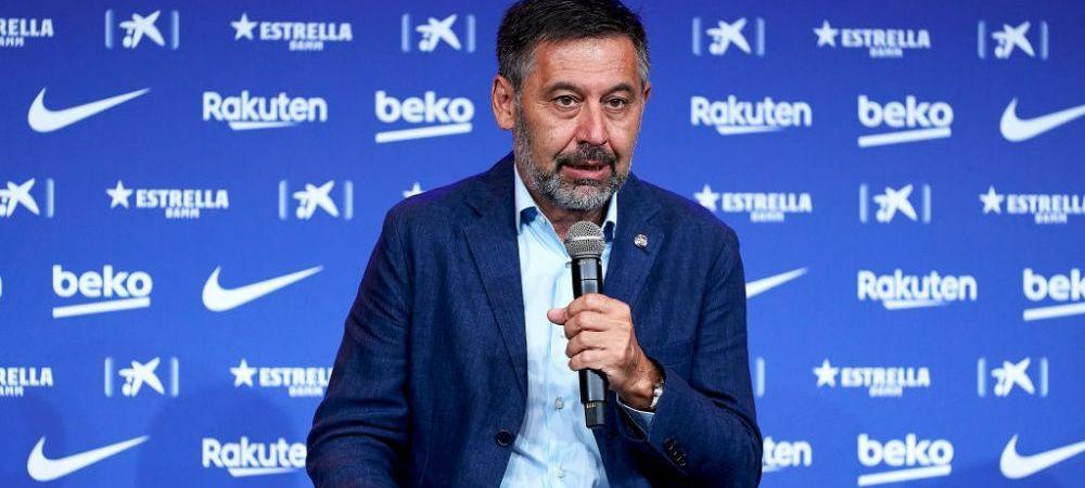 BOMBA de la miezul noptii! Presedintele Barcelonei, acuzat de CORUPTIE de politia din Catalunia!