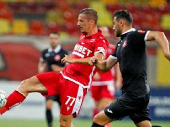 Verdict DUR pentru Vlad Achim! Mijlocasul lui Dinamo a fost operat si va rata derby-ul cu FCSB! Cat va sta pe margine