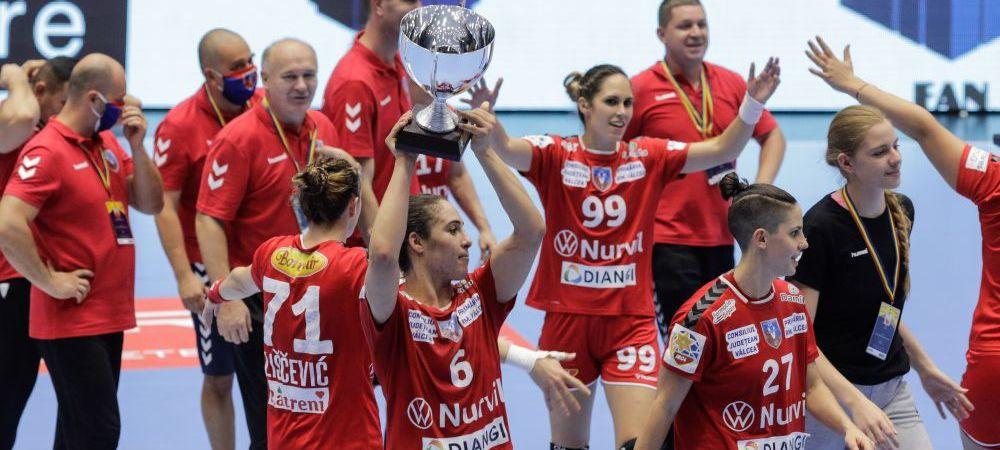 CSM Bucuresti 19-22 SCM Ramnicu Valcea | Surpriza in finala Cupei Romaniei la handbal! Infrangere clara a CSM-ului in fata rivalei