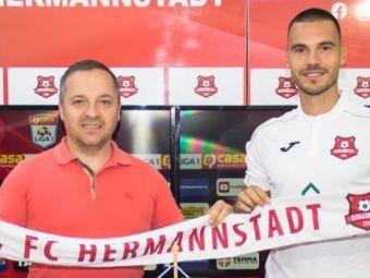 Hermannstadt a ajuns la cel de-al 9-lea transfer in aceasta vara! Un fost atacant trecut pe la Sepsi a semnat cu echipa lui Ruben Albes