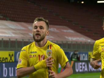 Avem 10 la nationala! Lob SUPERB al lui Maxim pentru golul 3 al Romaniei! Cum a marcat