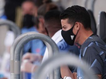 OFICIAL! Real Madrid a scapat de o rezerva de lux! James Rodriguez a semnat cu un club din Premier League! Cat au incasat spaniolii