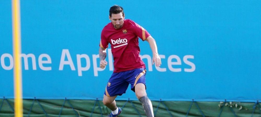 Messi, mai motivat ca niciodata! A vrut sa plece de la Barcelona, iar acum vine primul la antrenamente! Ce urmeaza pentru catalani