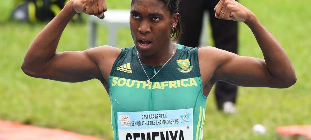Lovitura pentru una dintre cele mai importante atlete din lume. Caster Semenya are prea mult testosteron si are interzis la Tokyo!
