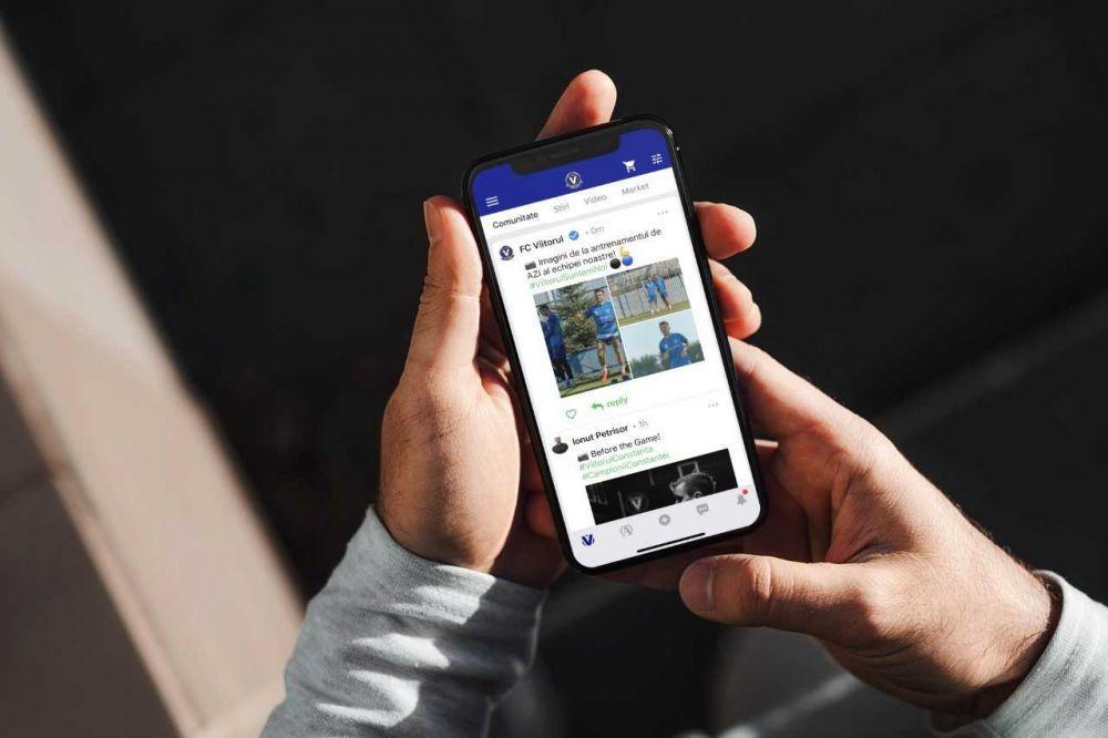 FC Viitorul si-a lansat aplicatie mobila! Proiectul unic in fotbalul romanesc al constantenilor