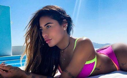 """""""Daca nu ma placi, PA!"""" SORA brazilianului Neymar INCINGE plajele din Mykonos. Poze in BIKINI incredibil de sexy"""