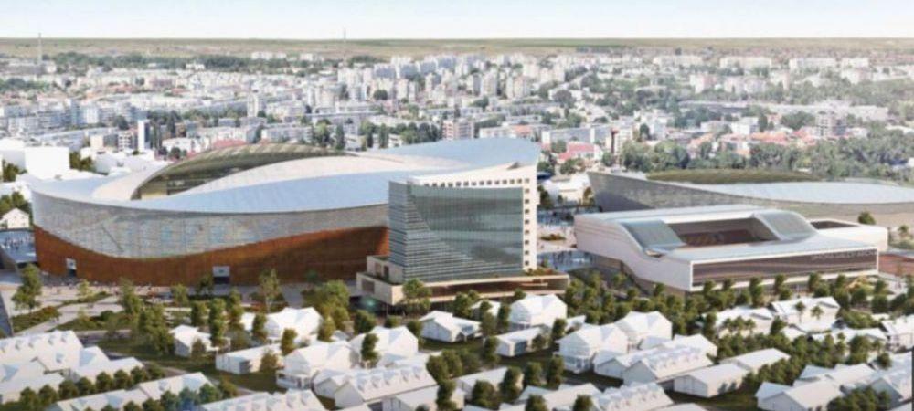 "Se face un nou SUPER STADION in Romania! Se va numi ""Gheorghe Hagi"" si va arata FANTASTIC! Primele imagini cu arena de LUX"